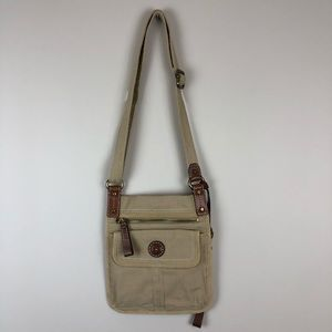 Fossil Modern Vintage Canvas Crossbody Bag